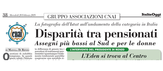 Disparità tra pensionati
