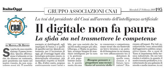 Il digitale non fa paura