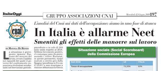 In Italia E Allarme Neet Cnai