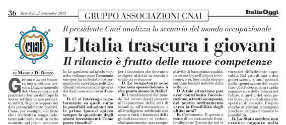 L'Italia trascura i giovani
