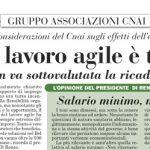 ItaliaOggi: Il lavoro agile è tampone su emergenza Coronavirus